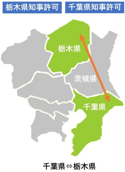 運搬地図_栃木県と千葉県